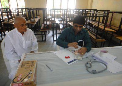 Medical Health check-up camp at Anjar, Kutch held on 25th September, 2016