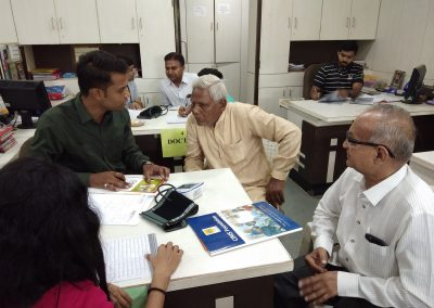 CIMS Foundation & The Kalupur Commercial Co-operative Bank Organized Free Health Check up Camps At The Kalupur Commercial Co-operative Bank – South Bopal, Sanand & Gota Branches